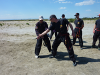 Self defence training by Master LEVAN